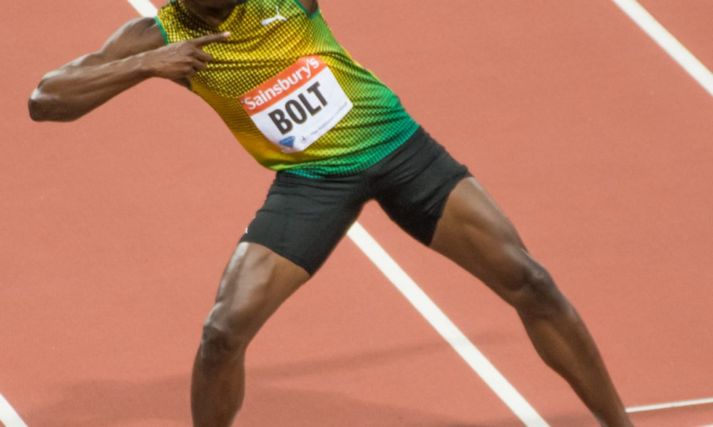 Usain Bolt: Men's 100 Metre World Record 9.58 Seconds ...