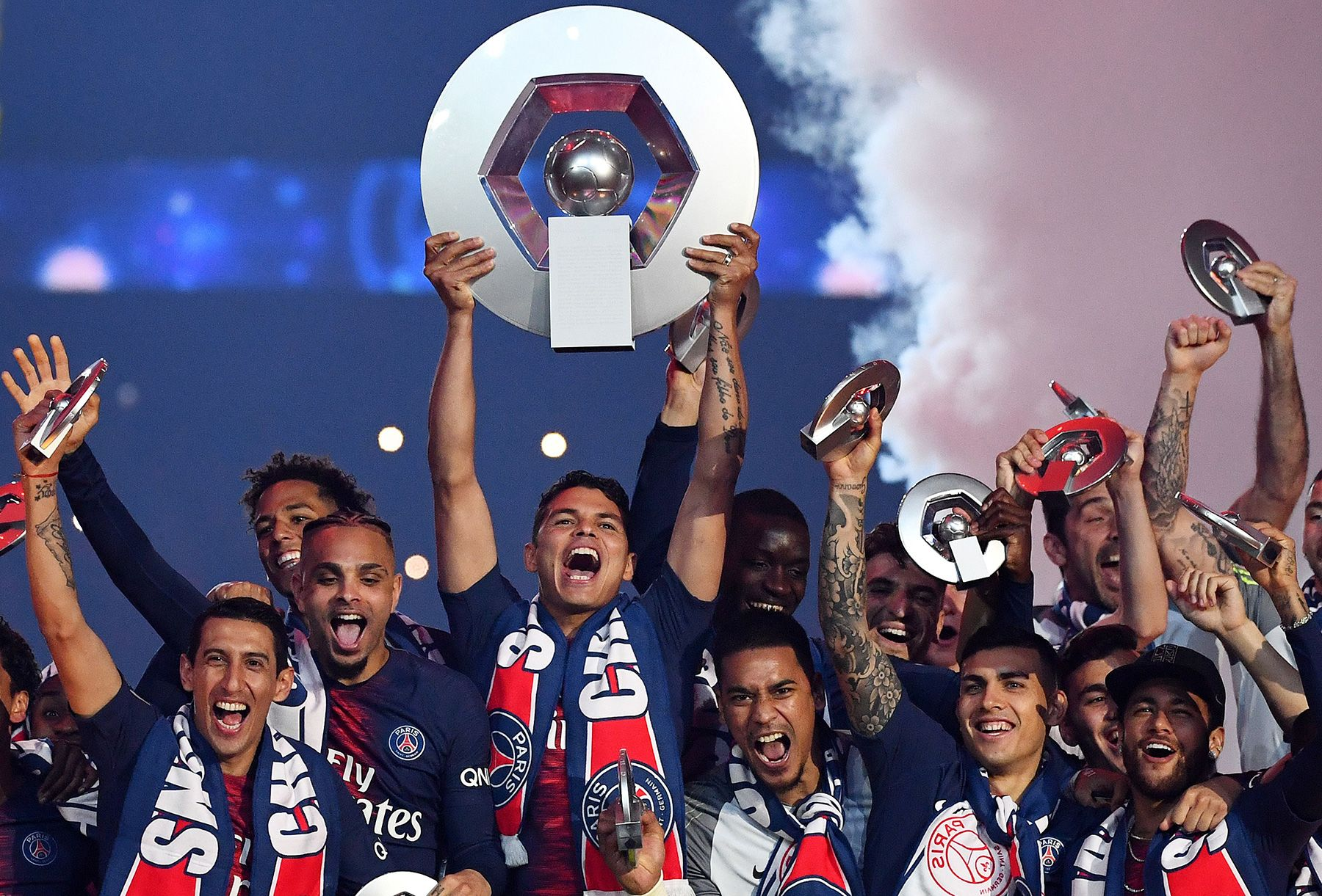 PSG crowned Ligue 1 Champions