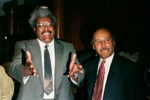 Don King (left)