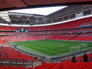 Wembley with no fans