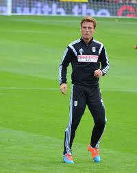 Fulham manager Scott Parker Coaching as the Championship returns