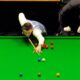 Mark Selby playing snooker