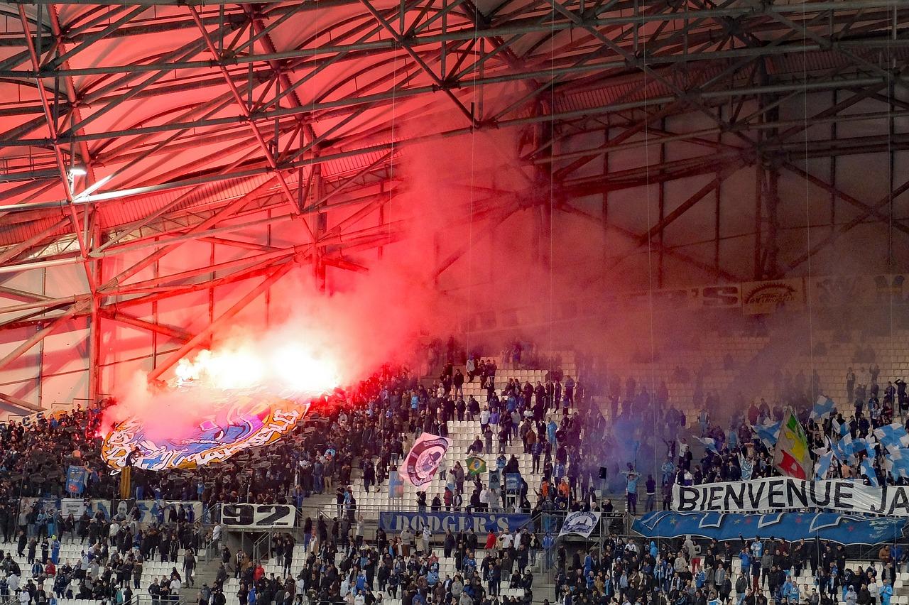 Marseille Football Fans