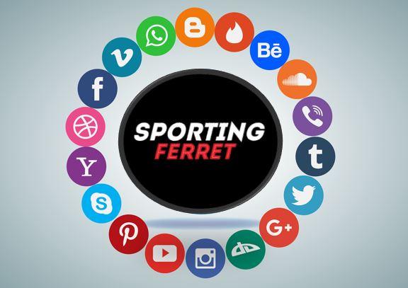 Sporting Ferret Social Media