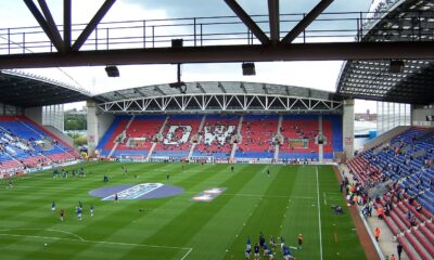 Wigan Athletic stadium