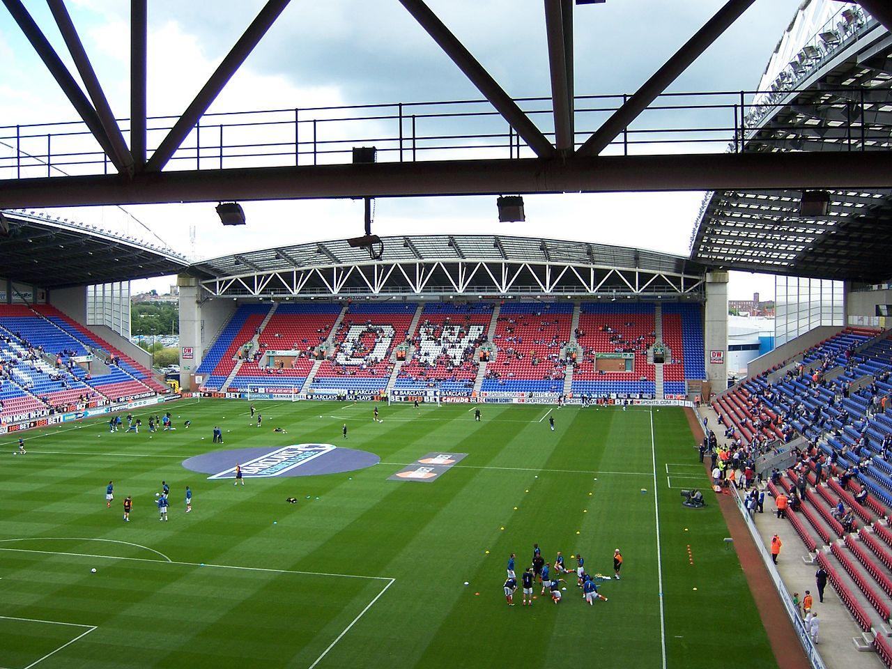 Wigan Athletic stadium