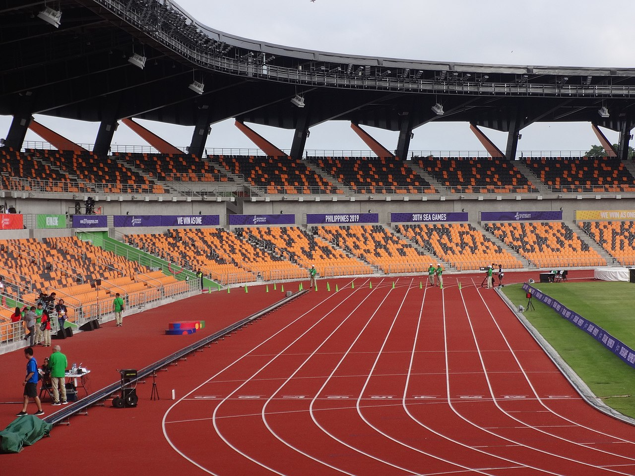 Olympic running track