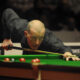 Steve Davis playing snooker