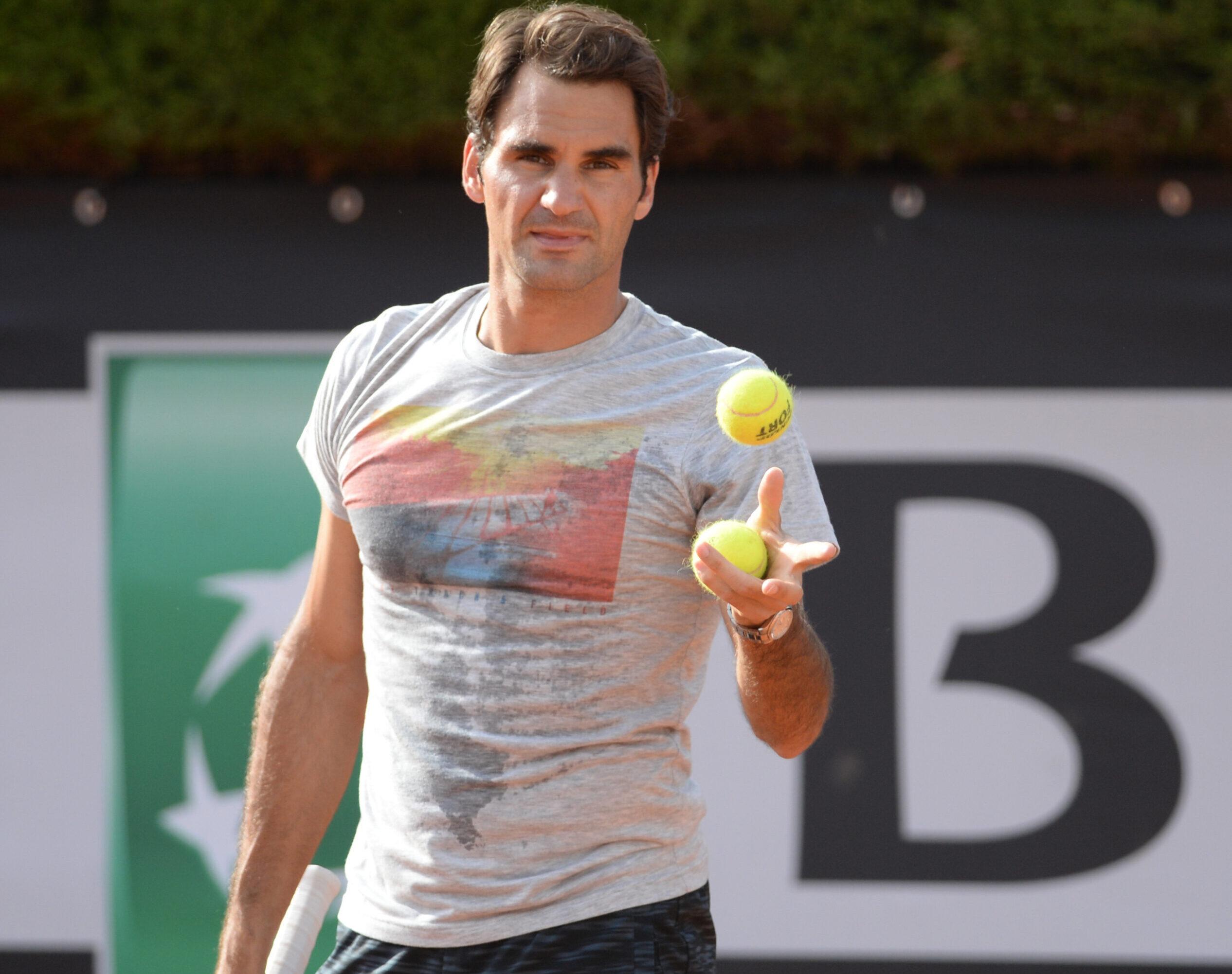 Roger Federer's Workout Routine