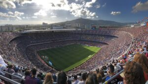 Camp Nou - The biggest football stadium in Europe