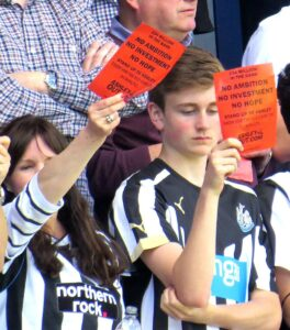 Newcastle United Fans desperate for a change in ownership