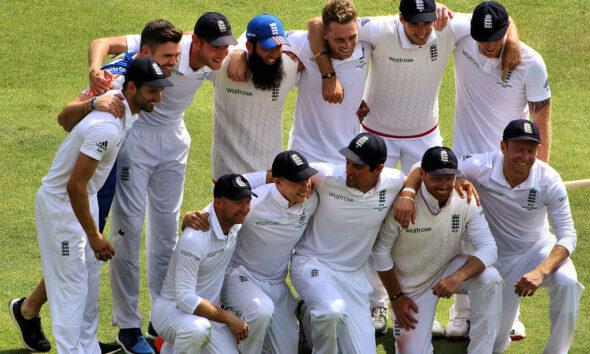 The Ashes England cricket team 2015