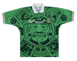 Mexico 1998 Home Shirt