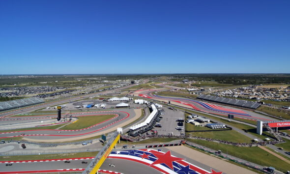 Aerial view of the COTA