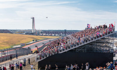 Image of fans watching the USA Grand Prix
