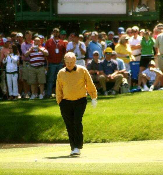 Picture of Jack Nicklaus at the 2006 Masters