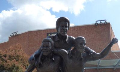 The Three Degrees Statue